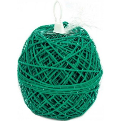 Κορδόνι δεσίματος πλαστικό πράσινο pvc 3mm
