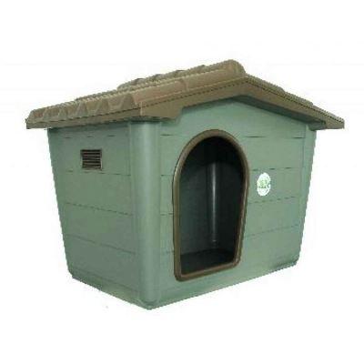 Eco Σπίτι Σκύλου Medium 79x56x60cm Γκρι