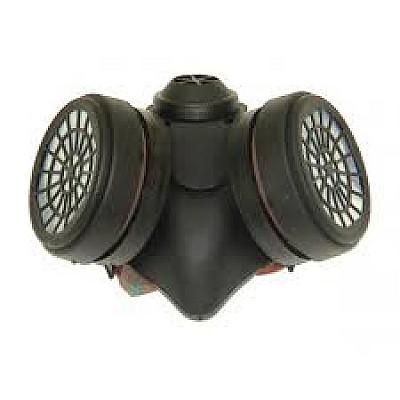 Μάσκα προστασίας με διπλό φίλτρο