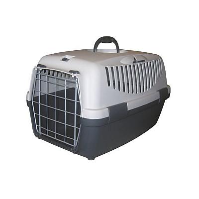 Κλουβί μεταφοράς σκύλου - γάτας 55*36*35cm γκρι Bracco Travel