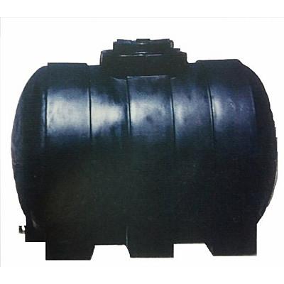 Δεξαμενή κυλινδρική χρώμα μαύρο 150 lt